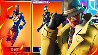 Fortnite New Skins UPDATE in Fortnite! Fortnite New Detective Skins! (New Drum Gun Update)