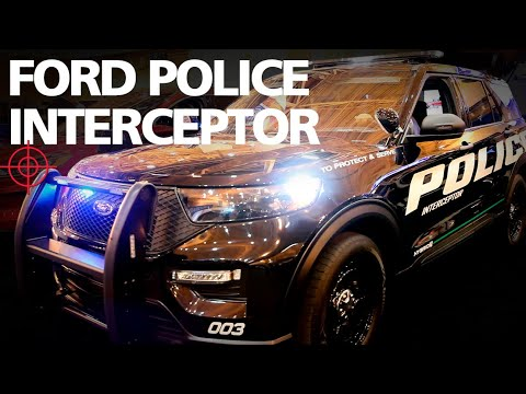 2020 Ford Police Interceptor Utility Pursuit-Rated Hybrid SUV