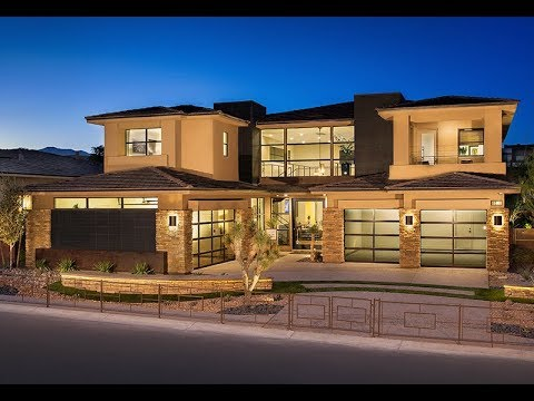 #MyHeaven NEW HOME $2.5M Summerlin NV: Award-Winning Silver Ridge 3 House William Lyon Home For Sale