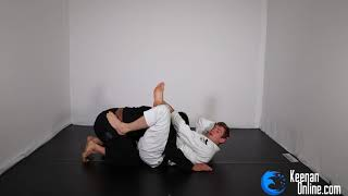 THE MOST PERFECT TRIANGLE CHOKE POSSIBLE - 37 steps! Highly Precise Instructional - KEENANONLINE.COM