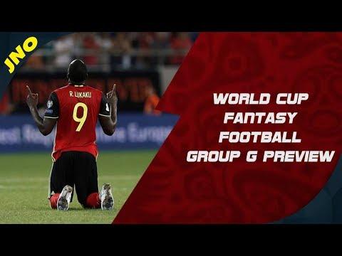 FIFA WORLD CUP 2018 tasy Football  Group G P & Player Picks!