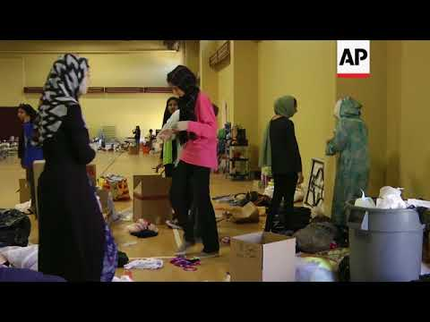 Houston Mosque Helps Harvey Victims On Holy Day