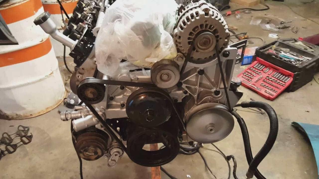 2016 Buick Grand National >> 1984 C10 Project ---- LS Swap Part 1 (Motor, Mount Adaptor ...