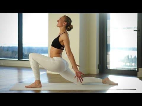 10 Min Wake Up Full Body Stretch   MORNING YOGA FOR FLEXIBILITY