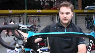 Team Sky mechanic talks about Bradley Wiggins's Pinarello bike