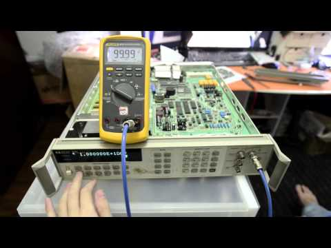 HP 3245A Repair and testing progress.