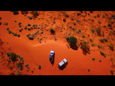 Crossing the Simpson Desert - With DJI inspire 1