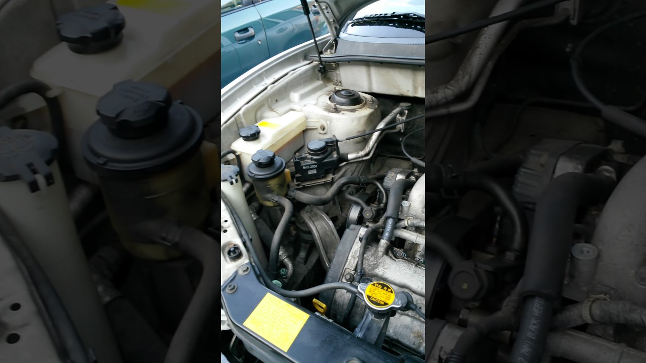 2003 Hyundai Santa Fe Loosing Coolant Antifreeze Youtube Engine