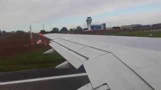 Birmingham airport takeoff to corfu may 2014