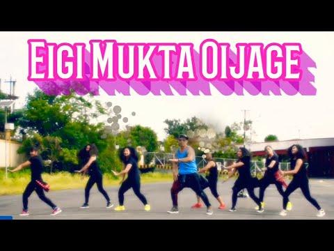 Eigi Mukta  Oijage    Zumba With Luckylee    Manipuri Song