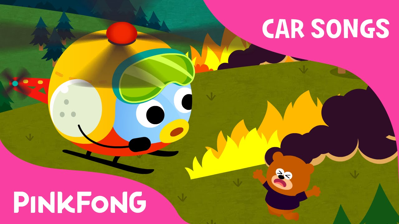 helicopter car songs pinkfong songs for children youtube
