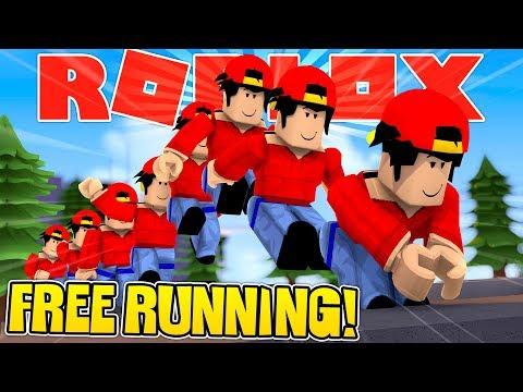 ROBLOX - FREE RUNNING CHAMPION!!!