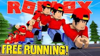 ROBLOX - FREE RUNNING CHAMPION!!!