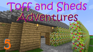 Toff and Shed's Adventures In Minecraft - Part 5 - Churn Me Power