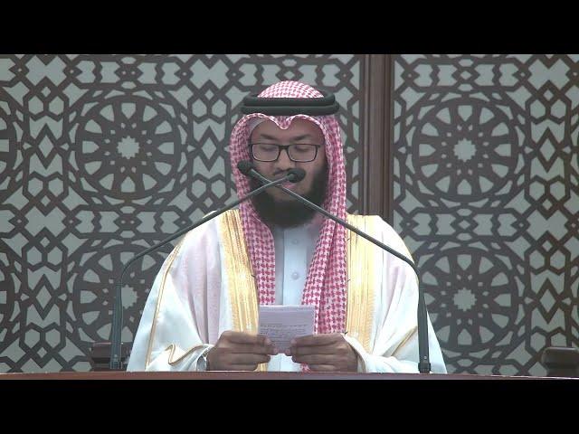 خطبة وصلاة الجمعة | الشيخد. خالد الشنو | 6 ذو الحجة 1442 هـ