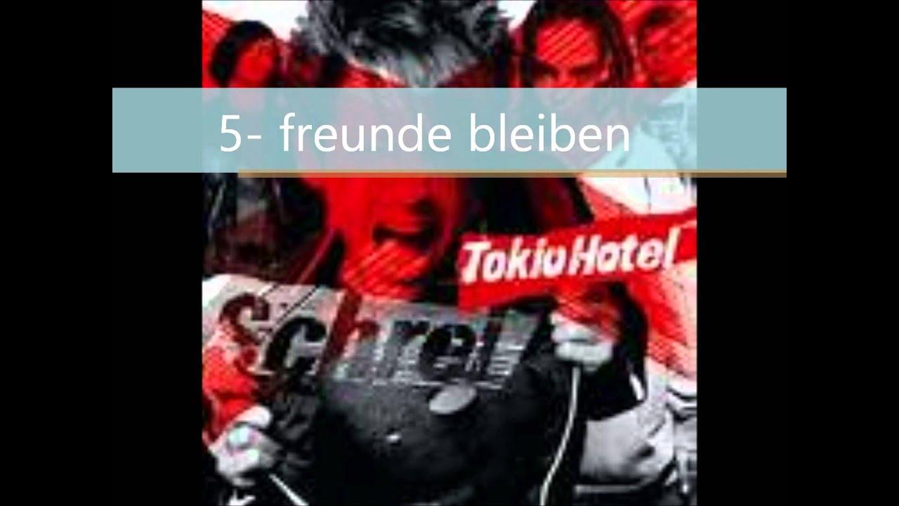 Schrei Tokio Hotel Complete Album