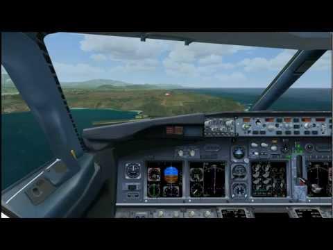 iFly 737 NGX: Alaska Flight 875 non-stop Seattle to Kauai (ORBX/FSDT/Newport) (FSX)
