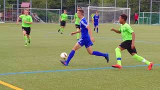 2017 0819 2017 SGV Freiberg U17 vs. Unterhaching U16 1.HALF 01