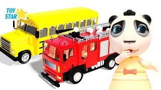 New 3D Cartoon For Kids ¦ Dolly And Friends ¦ School Bus Magic for Kids #166