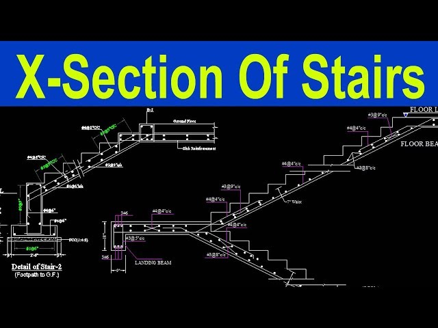 Design of stair   staircase Design   Civil engineering