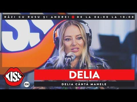 Delia cântă manele @ KissFM