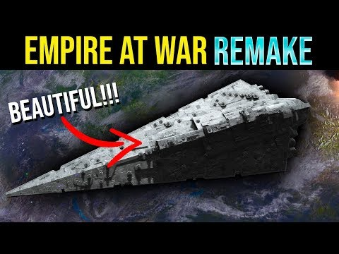 Empire At War But With 2019 Graphics | Empire At War Remake Mod