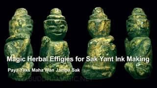 Dtugadtaa Wan Sak Magic Dolls for Making Magic Ink & Potions