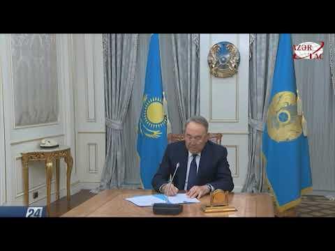 Qazaxıstan Prezidenti Nursultan Nazarbayev istefa verdi