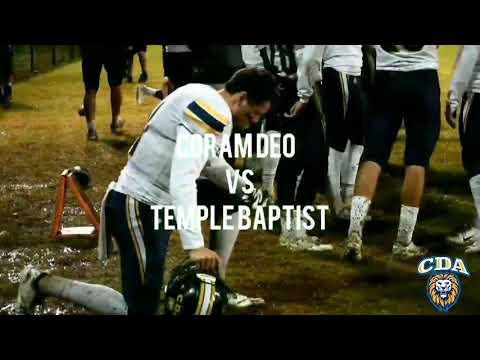 Coram Deo Academy 35 vs. Temple Baptist Academy 7 (7-0)