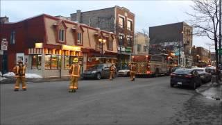 Fuite de gaz sur la rue Mont-Royal - Gas leak on Mont-Royal avenue