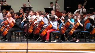 Themes from New World Symphony by Monroe County All-County Elementary Orchestra
