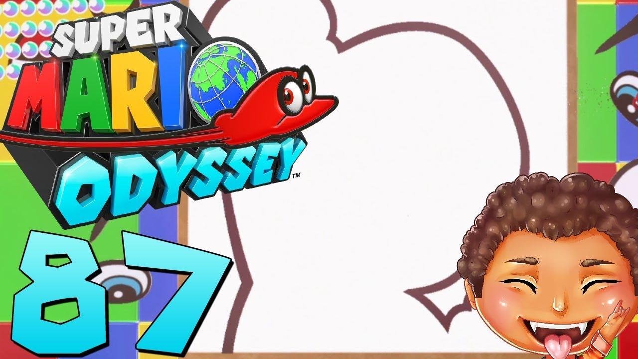 Lets Play Super Mario Odyssey 87 Malen Nach Zahlen