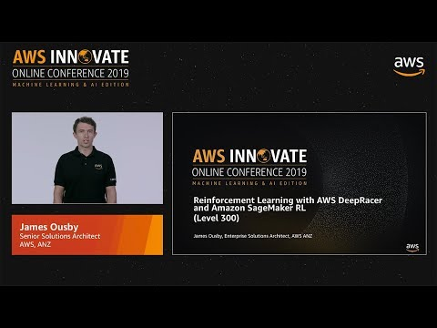 Reinforcement Learning with AWS DeepRacer and Amazon SageMaker RL (Level 300)