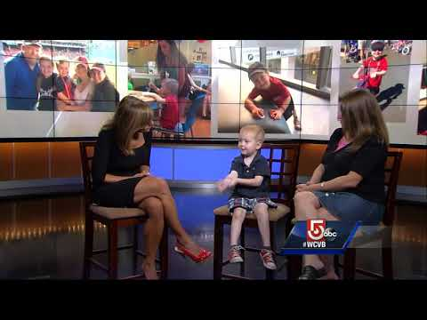 4-year-old battling cancer supported by Jimmy Fund