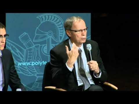 Conférence de Jean Tirole, prix Nobel d'économie, à l'X