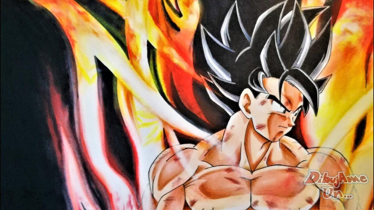 Dibujos Para Colorear De Goku Vs Jiren Goku Vs Naruto Coloring