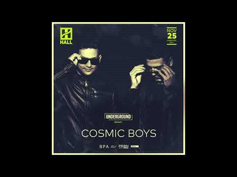 Cosmic Boys Live Set - HALL (Hungary) 25.11.17