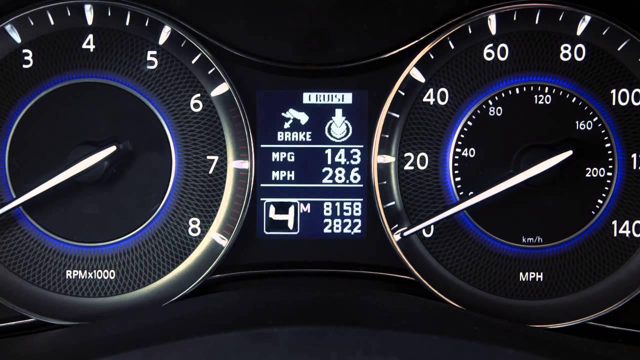 2013 Infiniti QX -  Automatic Transmission Manual Shift Mode