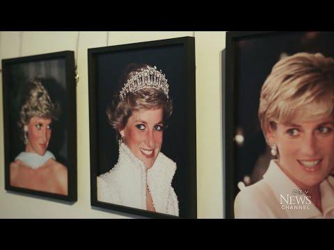 Royal history: Rare collection of Princess Diana's dresses
