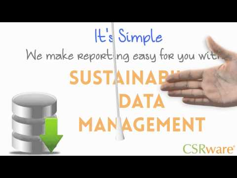 Energy & Sustainability Data Management & Reporting