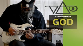 """Steve Vai - """"For The Love Of God""""  Cover by Jamie Wipiiti (4K)"""