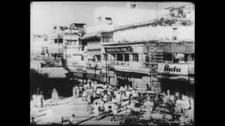 India, Benares, Varanasi,  back in 1937, Ganges bathing.