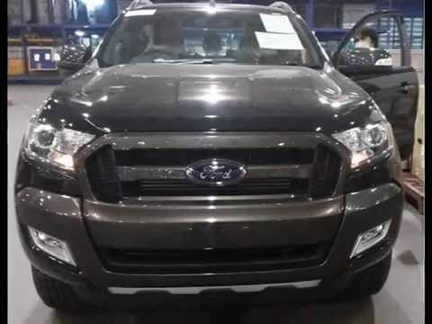 2016 Ford Ranger Wildtrak Black