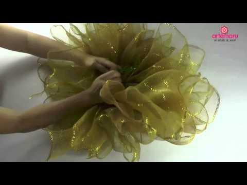 Como hacer un moño bailarina para navidad//How to make a Christmas ballerina bun