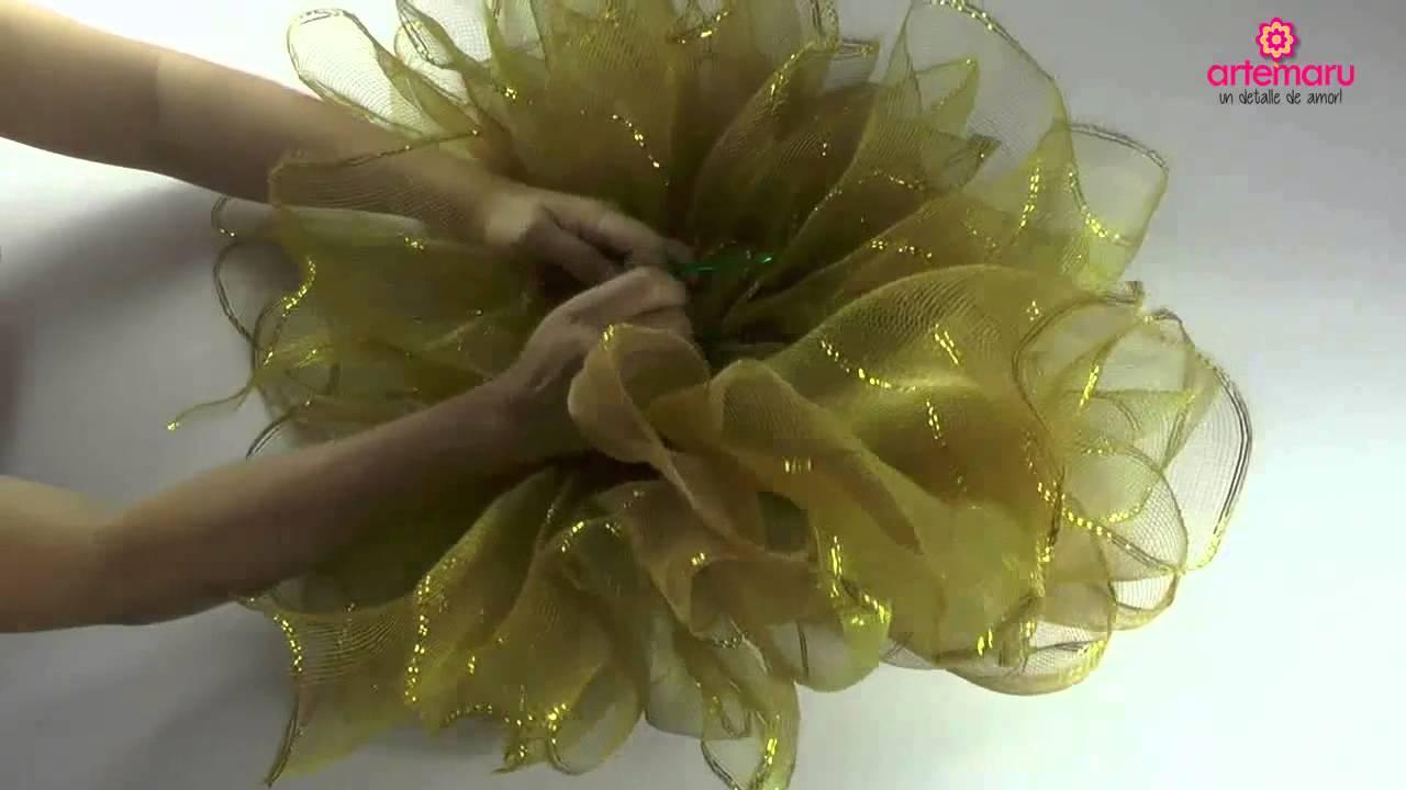 Como hacer un mo o bailarina para navidad how to make a for Como hacer arreglos de navidad