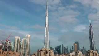 Burj Khalifa Time Lapse - Dubai, United Arab Emirates