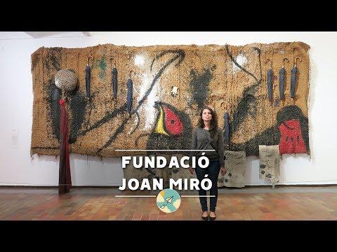VISITANDO A FUNDACIÓ JOAN MIRÓ - BARCELONA