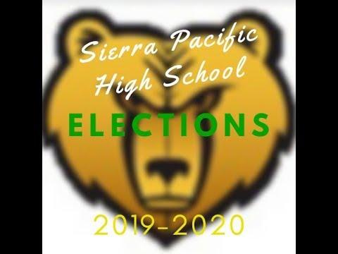 Sierra Pacific High School Elections 2019-2020