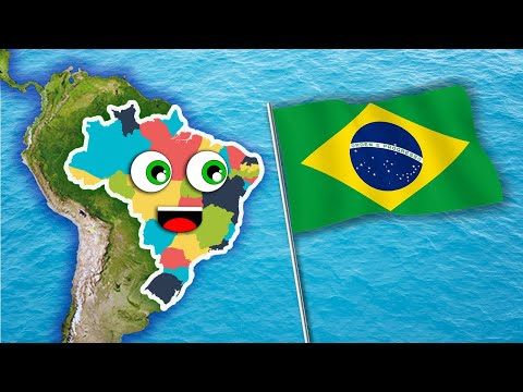 Brazil Geography/Brazil Country Song