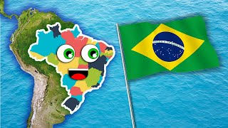 Brazil 26 states song/learn about brazil